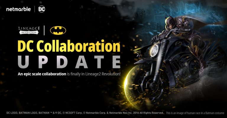 Lineage II Revolution Colaborating With DC Comic